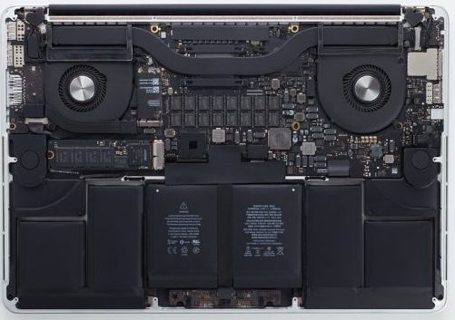 MacBook Pro Logic Board and Battery