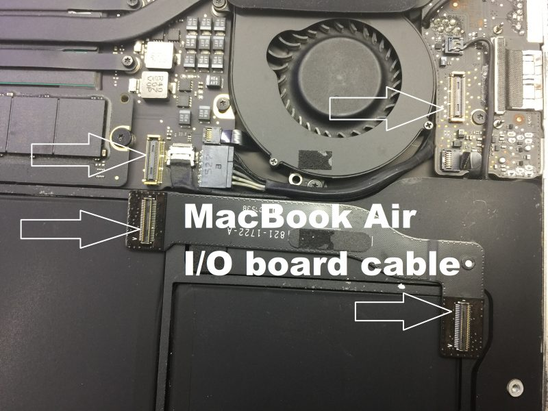 MacBook battery not charging - cable loose