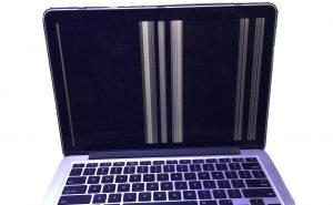 Broken MacBook Pro screen