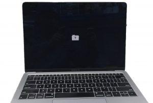 mac question mark folder on a MacBook Air 2020