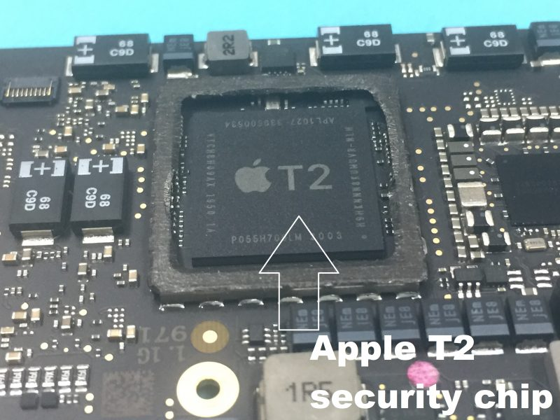 MacBook-wont-turne-on-caused-by-the-Apple-security-T2-chip-firmware-corruption